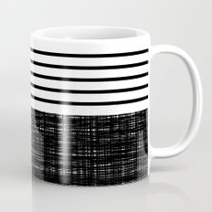 platno (black stripes) Mug