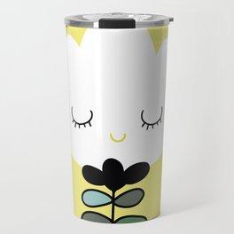simply flower Travel Mug