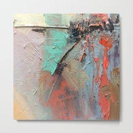Painting Art Tierra V - Colorful Landscape Metal Print