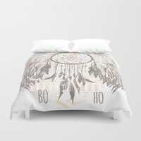 dreamcatcher Duvet Covers featuring Dreamcatcher by Julia