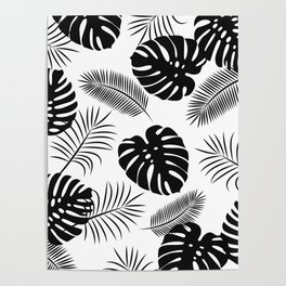 TROPICAL LEAVES 7 Poster
