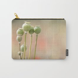 POPPY HEADS Carry-All Pouch