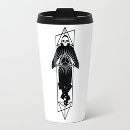 Discover triangle skull Travel Mug