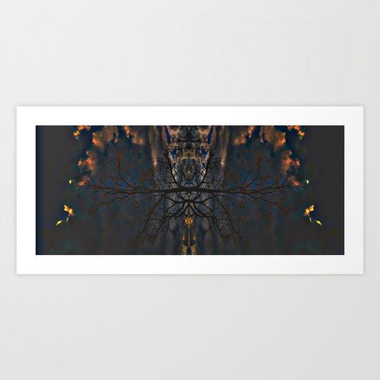 Treeflection II Art Print