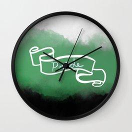 Neutrois Pride Wall Clock