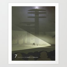 Close Encounter of the Seventh Kind - Collaboration Art Print
