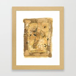 The Journey Is Long But Brief Framed Art Print