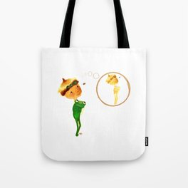 Think... coffee stain! Tote Bag