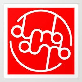 Dumbx2 Art Print
