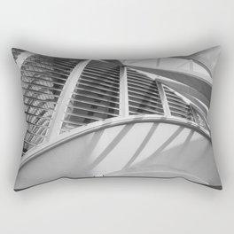 City of Arts and Sciences II | C A L A T R A V A | architect | Rectangular Pillow