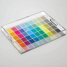 Colorful Soul - All colors together Acrylic Tray
