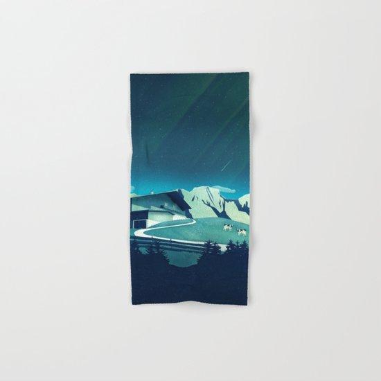 Alpine Hut Hand & Bath Towel