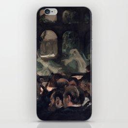 "The Ballet Scene from Meyerbeer's Opera ""Robert Le Diable"" iPhone Skin"