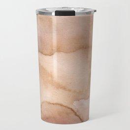 Beige effects Travel Mug
