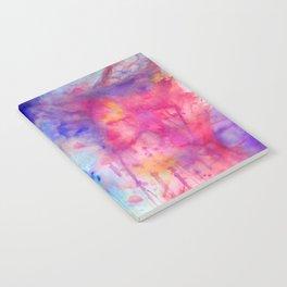 pink tie dye Notebook