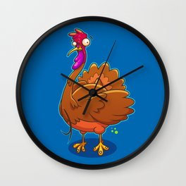 Gobble Me Up Wall Clock