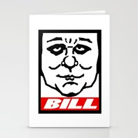 bill Stationery Cards featuring BILL by KINGOFTHERATS