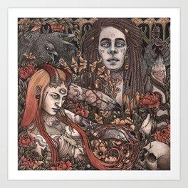 Demons In Colour Art Print