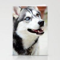 husky Stationery Cards featuring HUSKY  by Porterhouse LA