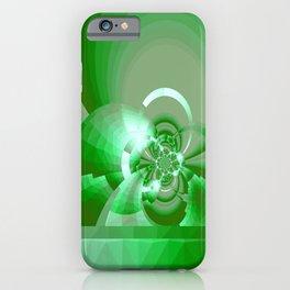 Gradienne Magna 62 Green iPhone Case
