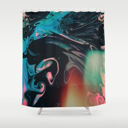 Taste the universe Shower Curtain