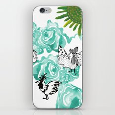 Chickens for Miles iPhone & iPod Skin