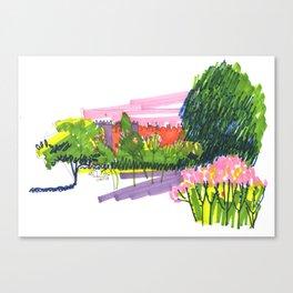 Botanical garden Canvas Print