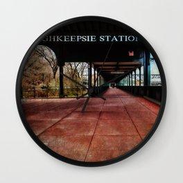 Poughkeepsie Station Pavilion  Wall Clock