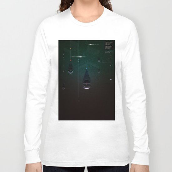 Deatheaters: Facebook Shapes & Statuses Long Sleeve T-shirt
