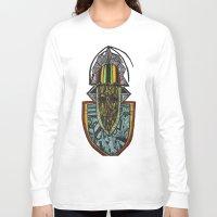 rasta Long Sleeve T-shirts featuring African Rasta by Kwaku Osei Studio