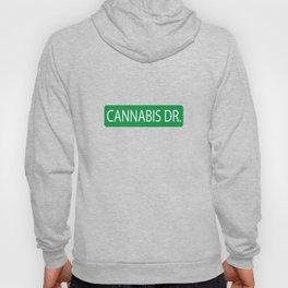 Cannabis Dr. Street Sign Hoody