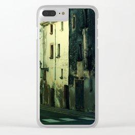 Creepy House Clear iPhone Case