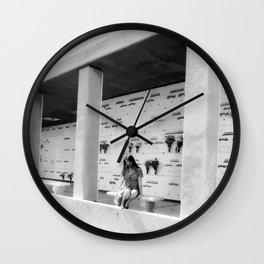 Quiet Time at the Mausoleum Wall Clock