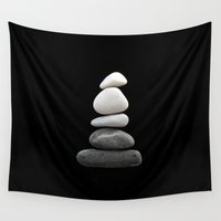 balance Wall Tapestries featuring balance by ARTbyJWP