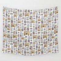 venice Wall Tapestries featuring Venice by Marina Eiro