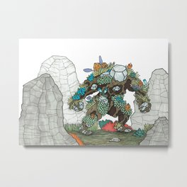 Walking Earth Metal Print
