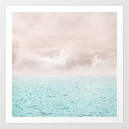 Pastel vibes 40 - Serenity Art Print
