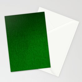 Emerald Green Ombre Design Stationery Cards