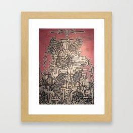 Great, Soft, White Hope Framed Art Print