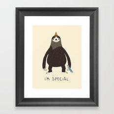 sloth(light) Framed Art Print