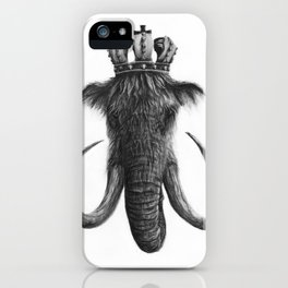 King Mammoth iPhone Case