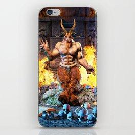 Sabbatic Goat Satanic Baphomet iPhone Skin