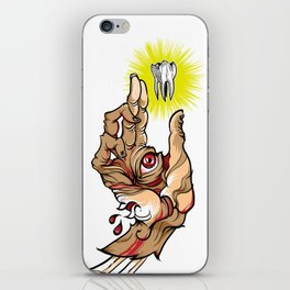 God bless the tooth iPhone Skin