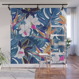 tropical pattern Wall Mural