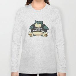 Frankie Say Snorlax Long Sleeve T-shirt