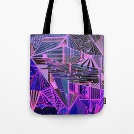 Geometric Inverse Tote Bag