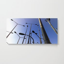 Blue Sky Project - Bilbao  Metal Print