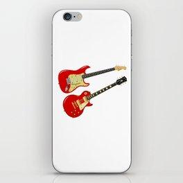 Red Elecric Guitars iPhone Skin