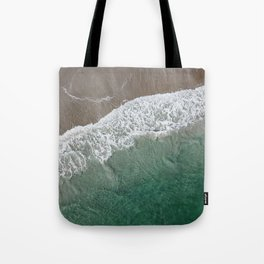 Wrightsville Beach Waves Tote Bag