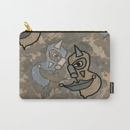 Wild Clowns Carry-All Pouch